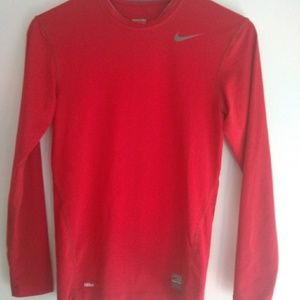 Nike Pro Compression Top Red Size S
